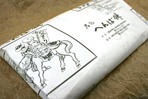 パッケージはやっぱり馬。