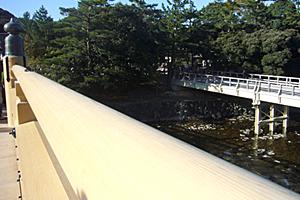 新旧宇治橋