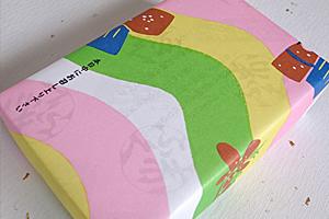 春っぽい包装紙☆